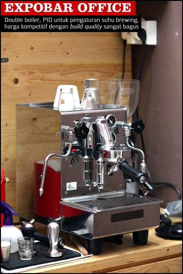 Mesin Espresso Untuk Warung Kopi 2 Cikopi