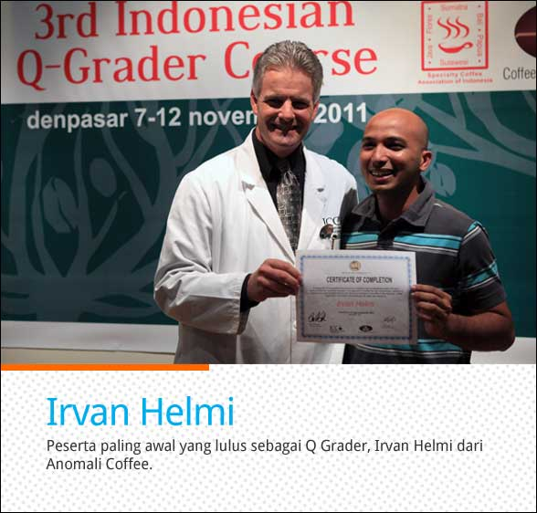 Q Grader Indonesia Cikopi