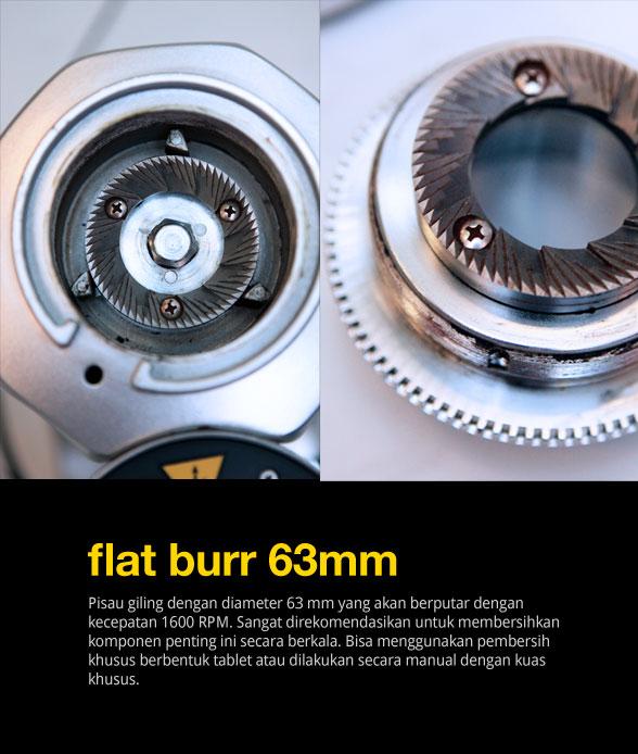 flat-burr