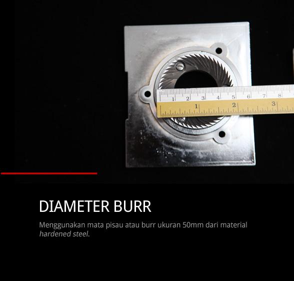burr-size